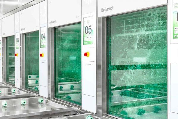 Автоматична обработка и стерилизация
